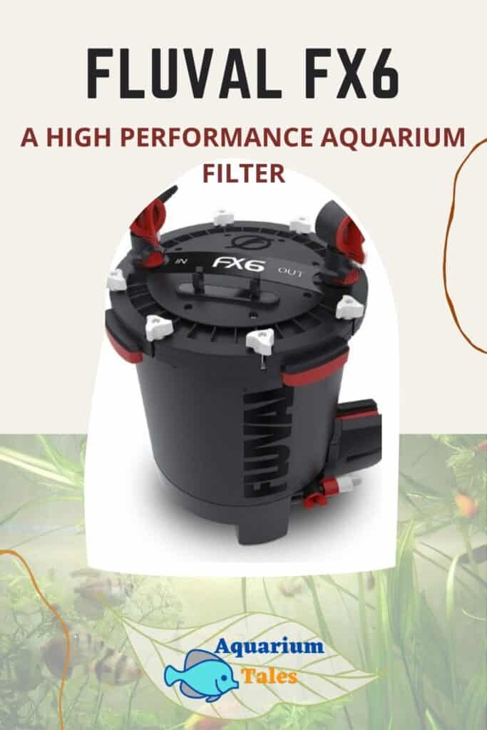 Fluval FX6 High performance filter review