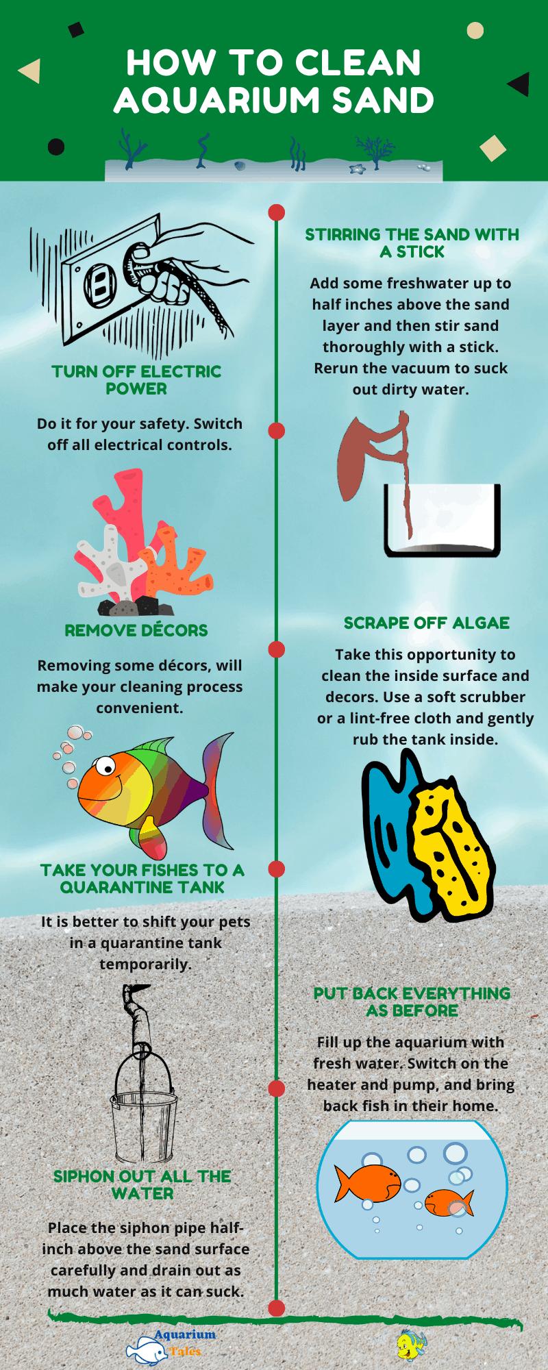 How to Clean Aquarium Sand Thoroughly
