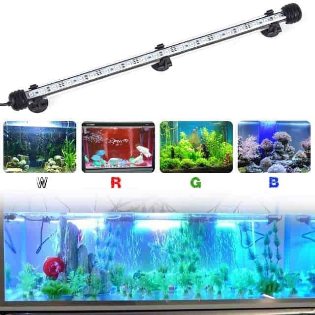 NATEEL LED Submersible Aquarium Light