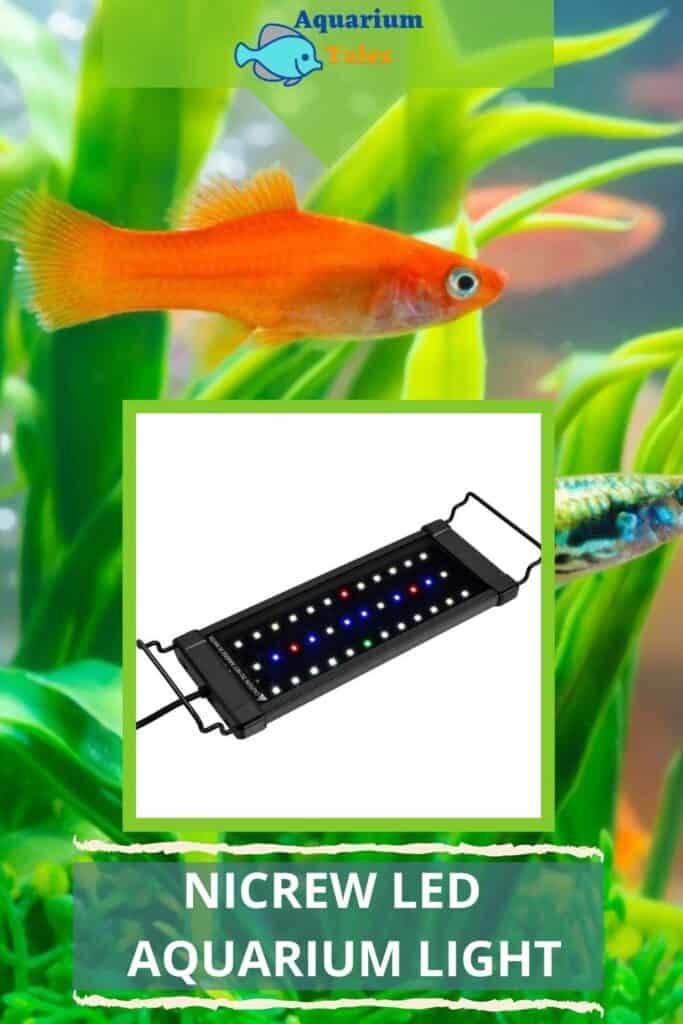 NICREW LED Planted Aquarium Light For Planted aquariums