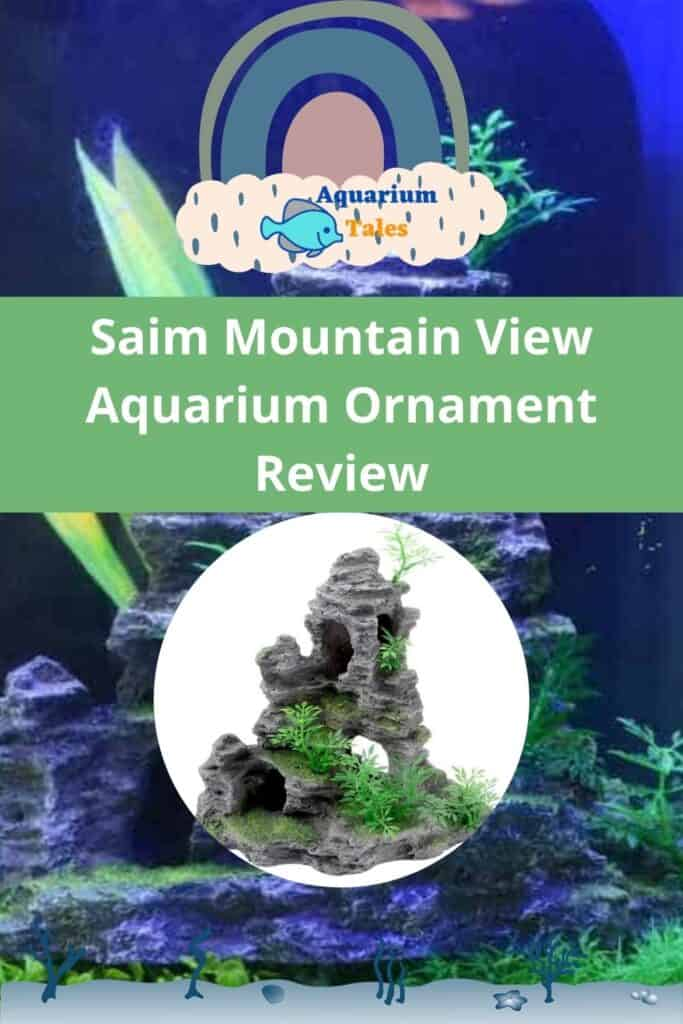Saim Mountain View Aquarium Ornament detailed review