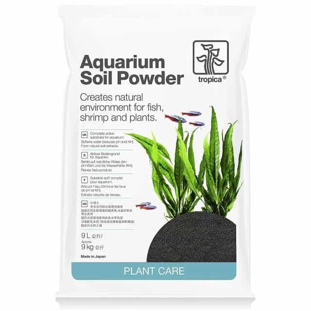 Tropica Plant Care Freshwater Planted Aquarium Soil Powder