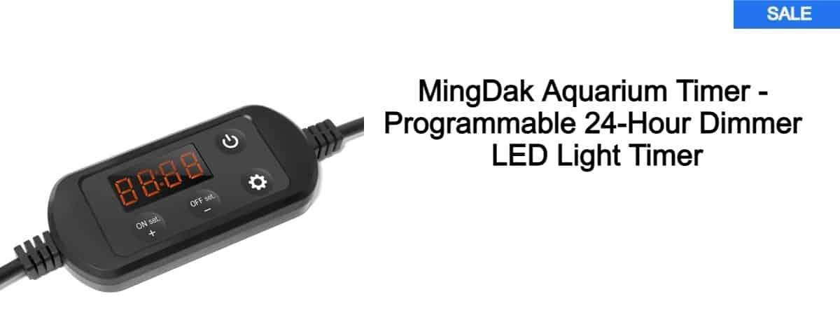 aquarium light timer