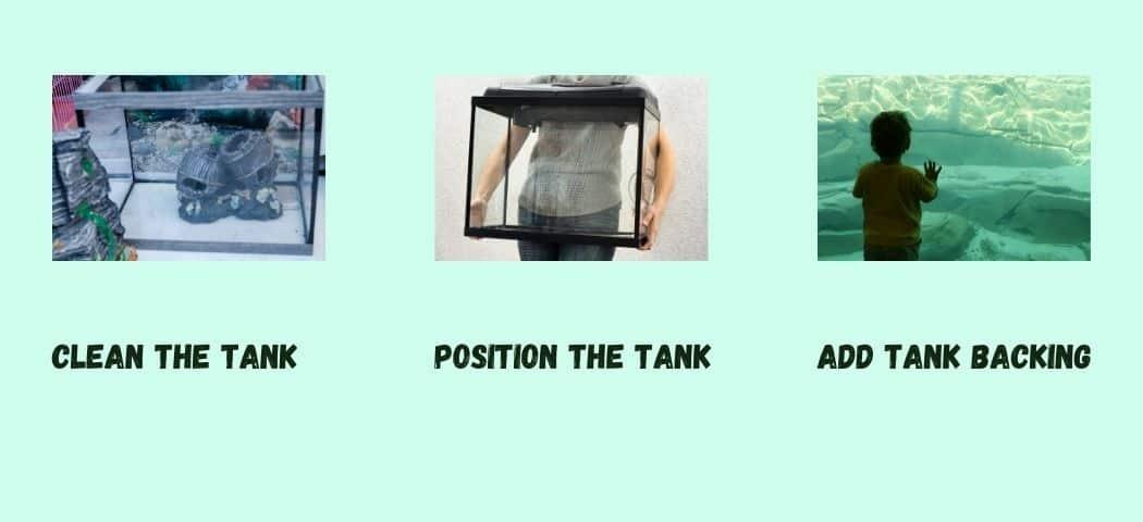 Prepare The Tank