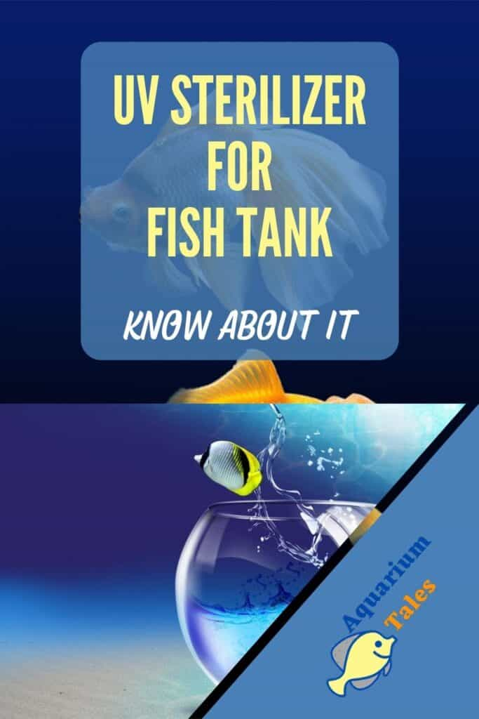 UV Sterilizer for Fish Tank