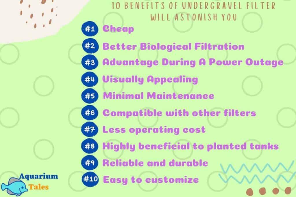 10 benefits of undergravel filter will astonish you