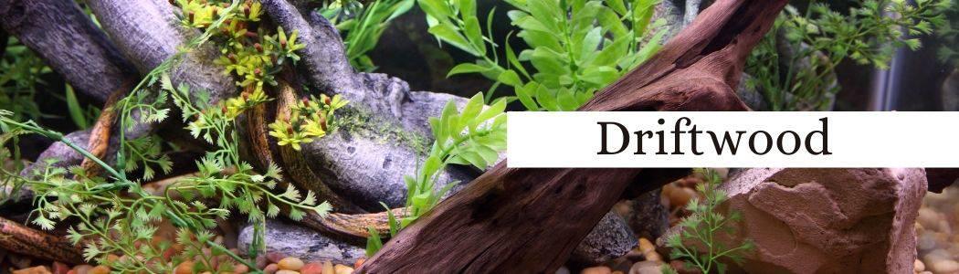 Driftwood to lower aquarium water pH