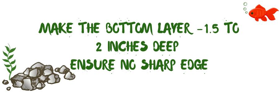 prepare substrate to plant aquarium plants in gravel