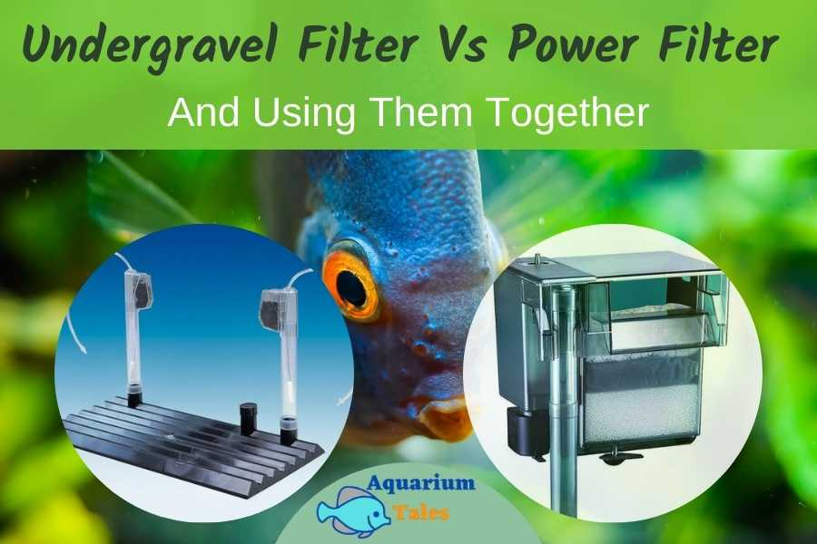Undergravel Filter Vs Power Filter And Using Them Together