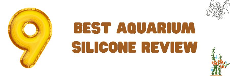 9 Best Aquarium Silicone Review