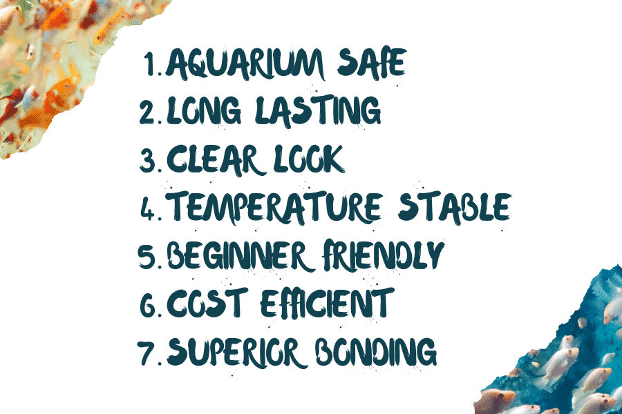 Benefits of Fish Tank Silicone