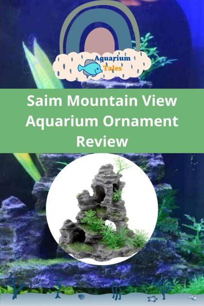 Saim Mountain View Aquarium Ornament detailed review