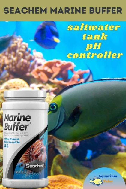 Seachem Marine Buffer Review